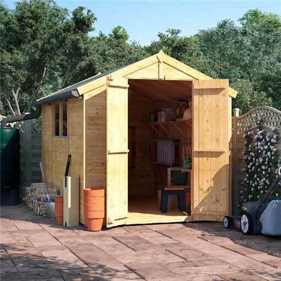 10x6 T&G Apex Shed - BillyOh Master Windowed