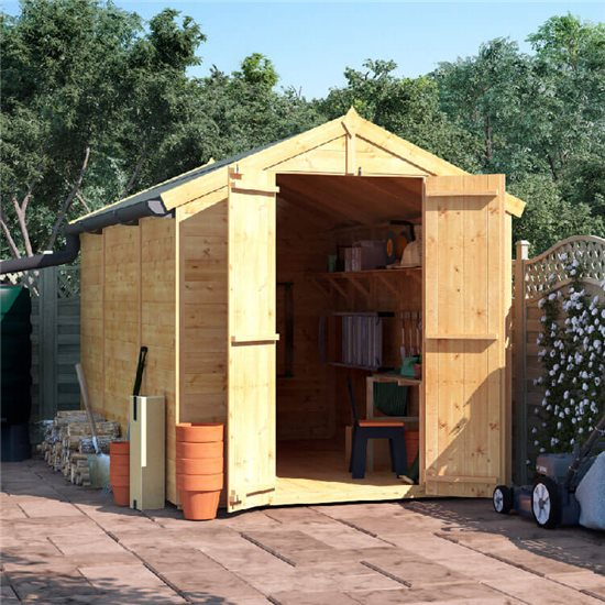 10x6 T&G Apex Shed - BillyOh Master Windowless