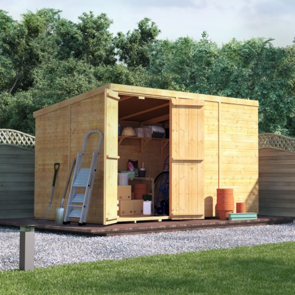 10x6 T&G Pent Shed - BillyOh Master Windowless