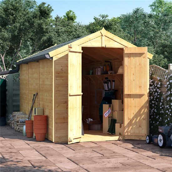12x6 T&G Apex Shed - BillyOh Master Windowless