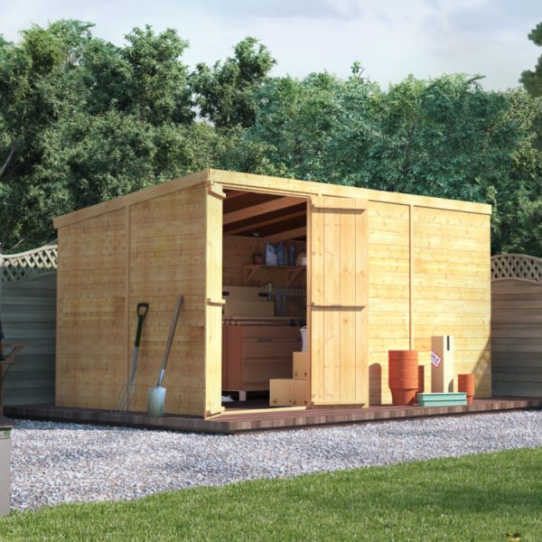 12x6 T&G Pent Shed - BillyOh Master Windowless