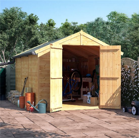 12x8 T&G Apex Shed - BillyOh Master Windowless