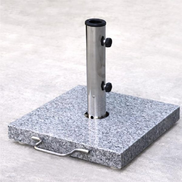 25KG Square Granite Base For Parasols 40x40cm