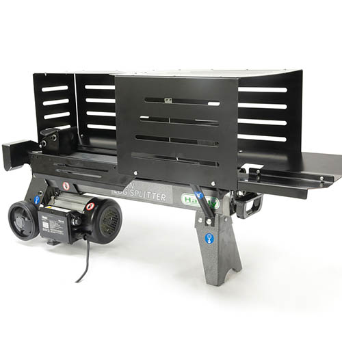 6 Ton Electric Log Splitter With Guards