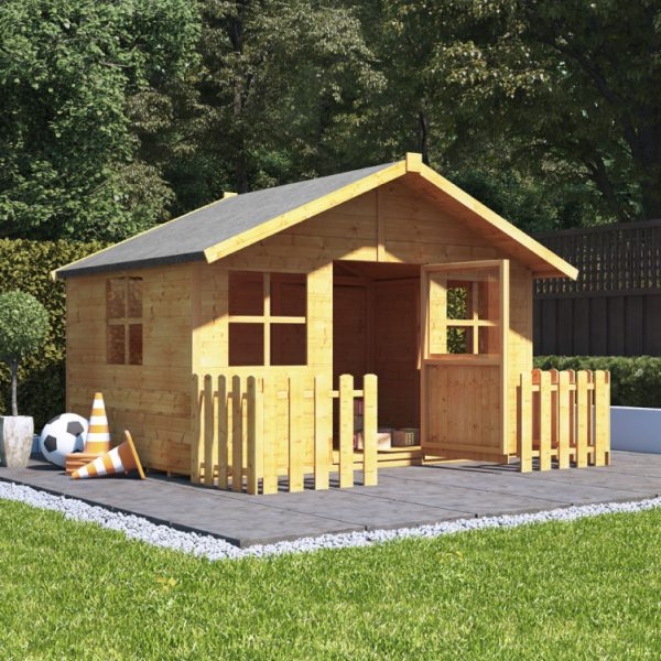 BillyOh Childrens Playhouses - Lollipop Wooden Playhouse 6'x7'
