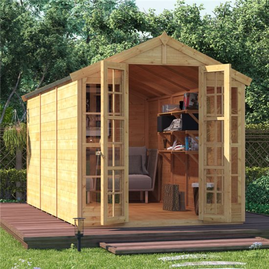 BillyOh Harper Tongue and Groove Apex Summerhouse - 12x6 T&G Apex Summerhouse