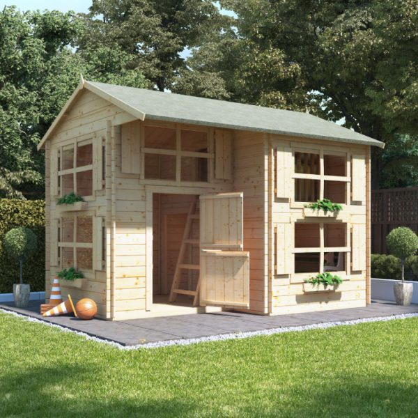 BillyOh Playhouses - Annex Log Cabin Wooden Playhouse
