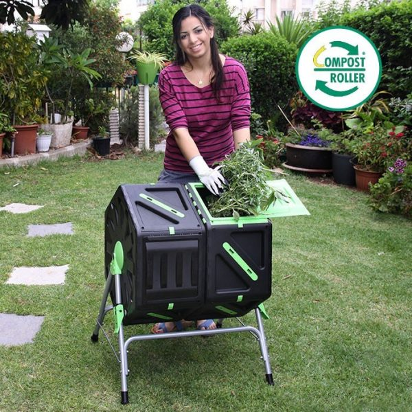 Bio Green Compost Roller Duo 70