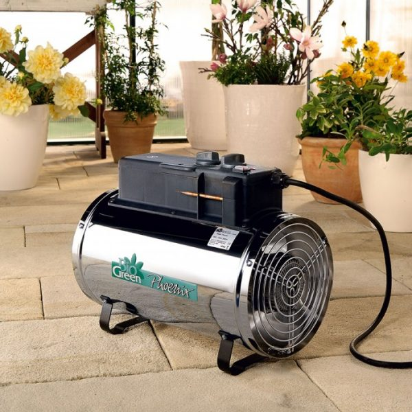 Bio Green Phoenix 2.8Kw Electric Greenhouse Heater