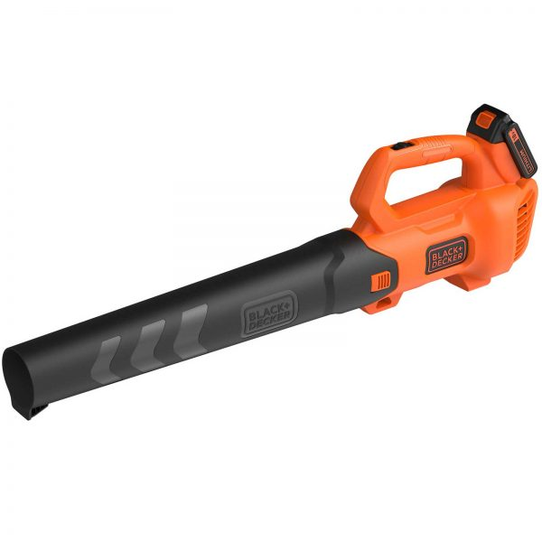 Black and Decker BCBL200L 18v Cordless Axial Garden Leaf Blower 1 x 2ah Li-ion Charger