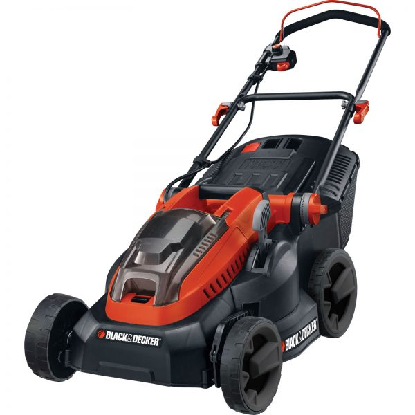 Black and Decker CLM3820L 36v Cordless Rotary Lawnmower 380mm 2 x 2ah Li-ion Charger