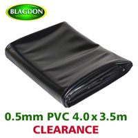 Blagdon PVC 4m X 3.5m Pond Liner ONLY