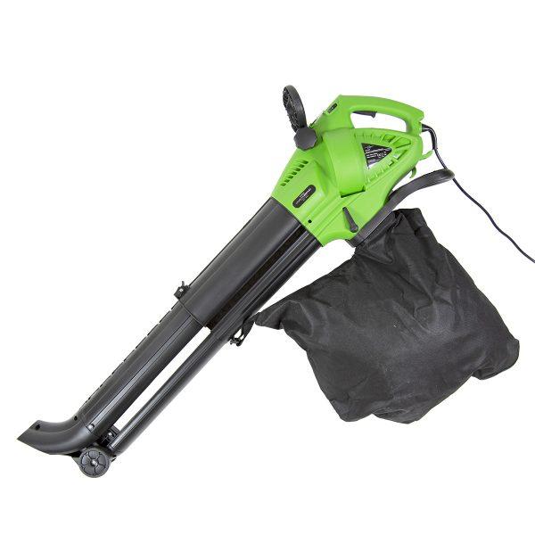 Charles Bentley 3000W Electric 3 in 1 Leaf Blower, Vacuum, Shredder