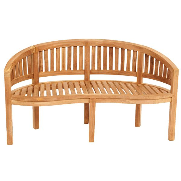 Charles Bentley San Diego 3-Seater Wooden Garden Bench