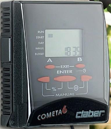 Claber Cometa 6 Water Timer