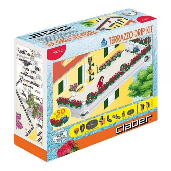 Claber Terrazzo Irrigation Kit (50 Plants)