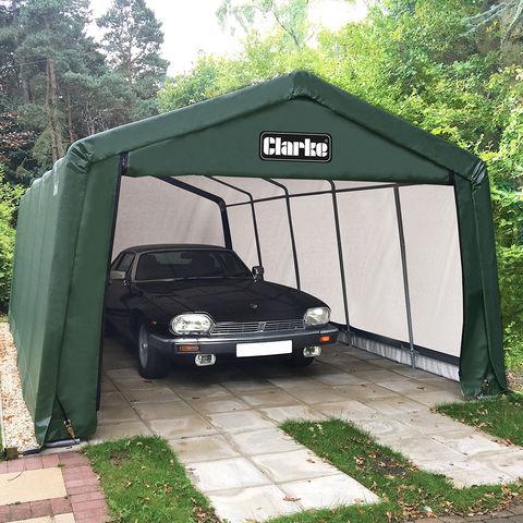 Clarke Clarke CIG81220 Garage / Workshop - Green (6.1 x 3.7 x 2.5m)