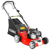 Cobra 18 Petrol Premium Powered Lawnmower 4-in-1