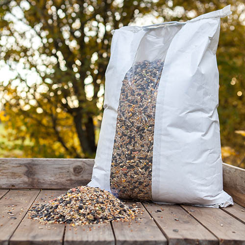 DeLuxe 14 seed mix wild Bird Food 12.75kg sack