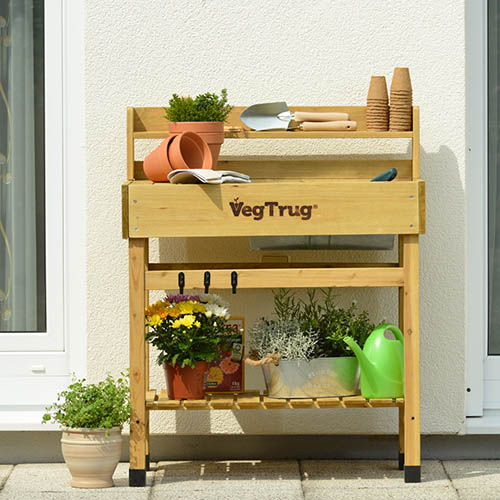 Deluxe Potting Bench - Natural (FSC 100%)