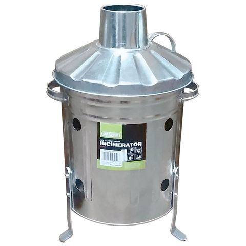 Draper Draper 15L Galvanised Mini Incinerator