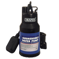 Draper SWP235ADW Submersible Pond Pump with float - Handles Solids 32mm (35467)