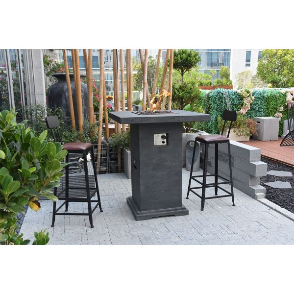 Elementi Montreal Bar Table Fire Pit