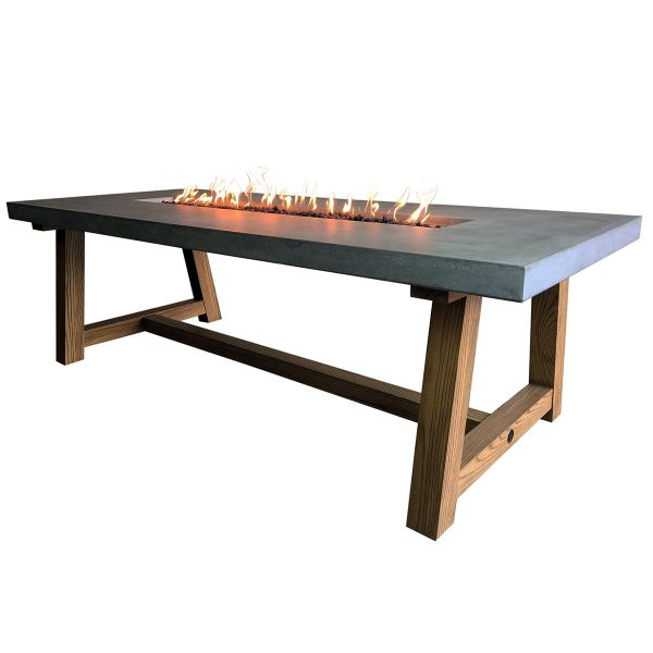 Elementi Workshop Fire Pit Dining Table