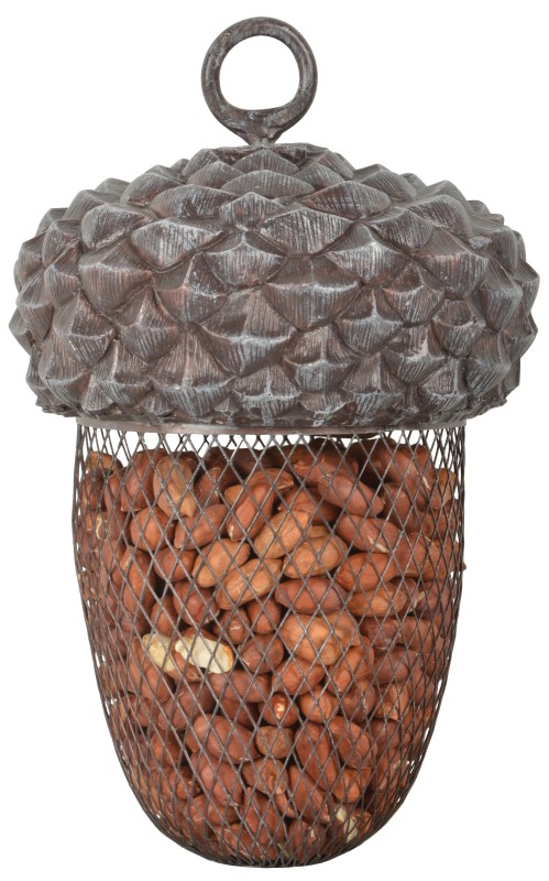 Fallen Fruits Acorn Bird Feeder
