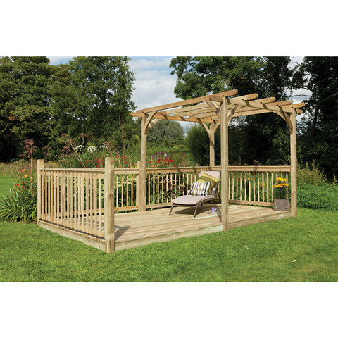 Forest Forest 2.4x4.8m Ultima Pergola Deck Kit