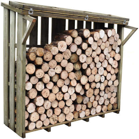Forest Forest 206x212x117cm Flip Top Log Store Large
