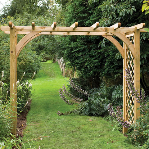 Forest Forest 245x270x136cm Large Ultima Pergola Arch