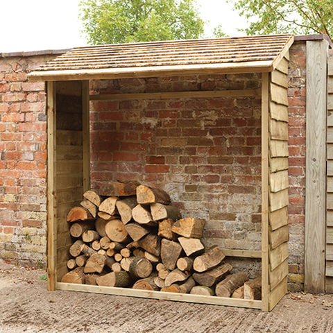 Forest Forest Wall Log Store