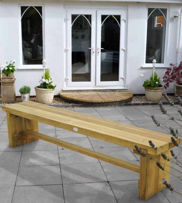 Forest Garden Double Sleeper Bench 1.8m