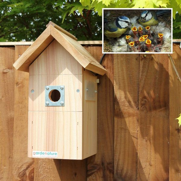 Gardenature Nest Box Wired Camera System - 40 Meter