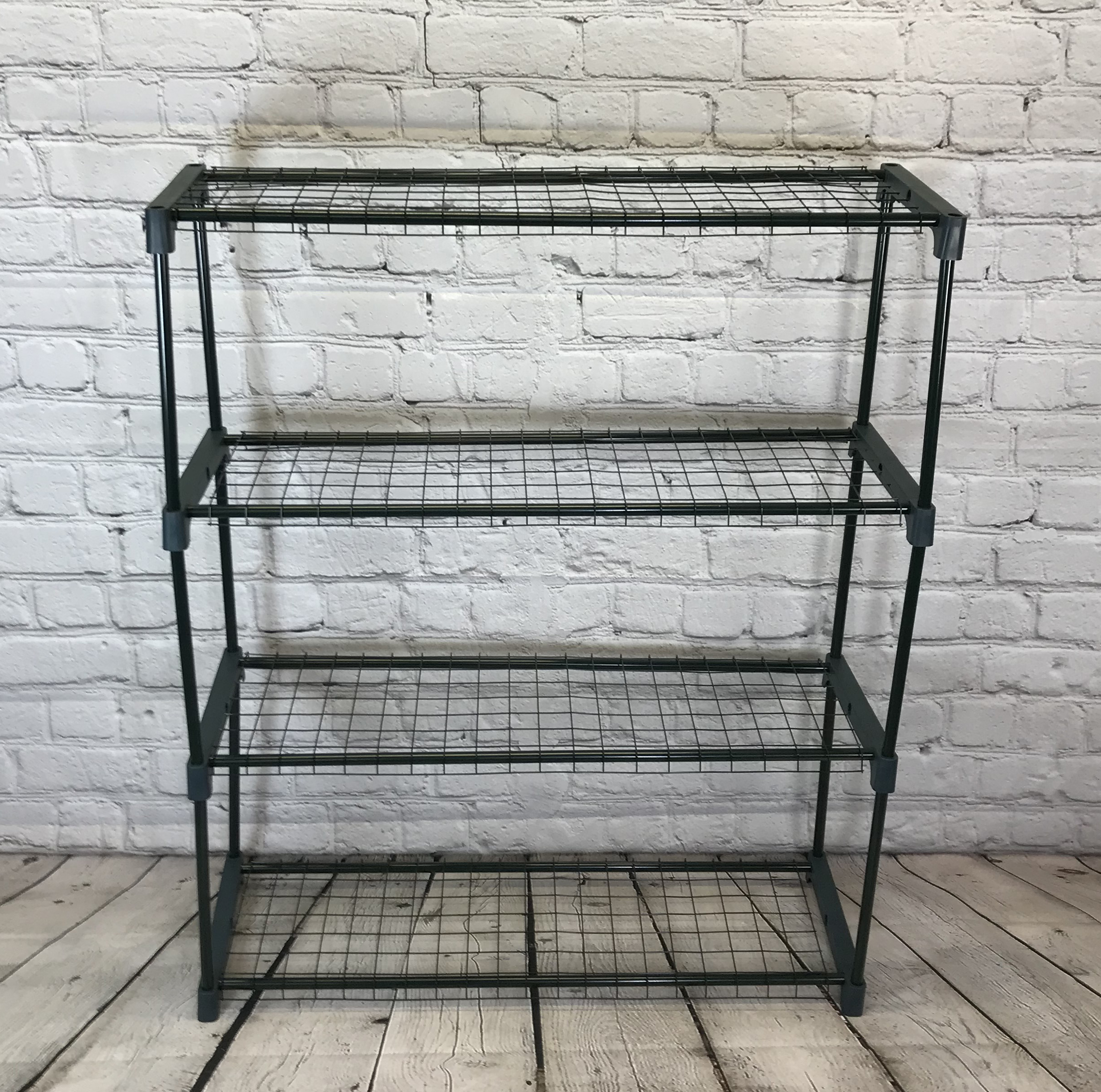 Garden Greenhouse Staging Shelving Racking Steel 4 Tier