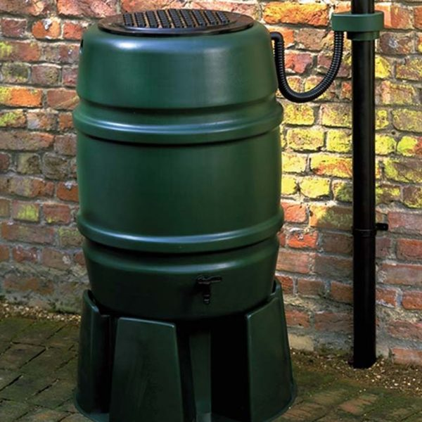 Harcostar universal rain trap for water butts green