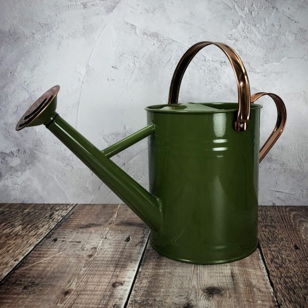 Heritage Tweed Metal & Copper Watering Can (3.5 Litre)