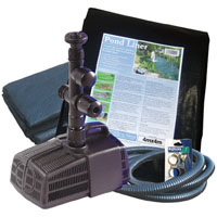 Hozelock Cascade 700 Starter Fountain & Waterfall Pond Kit
