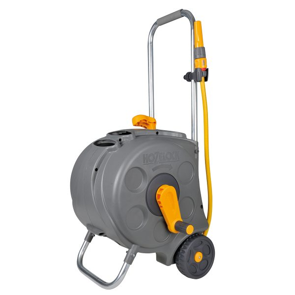 Hozelock Compact Enclosed Cart with 30m Hose