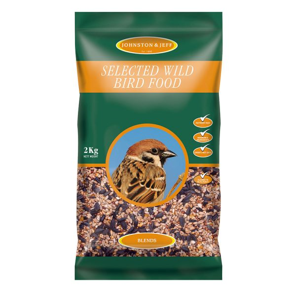 Johnston & Jeff Wild Bird Food - 2kg