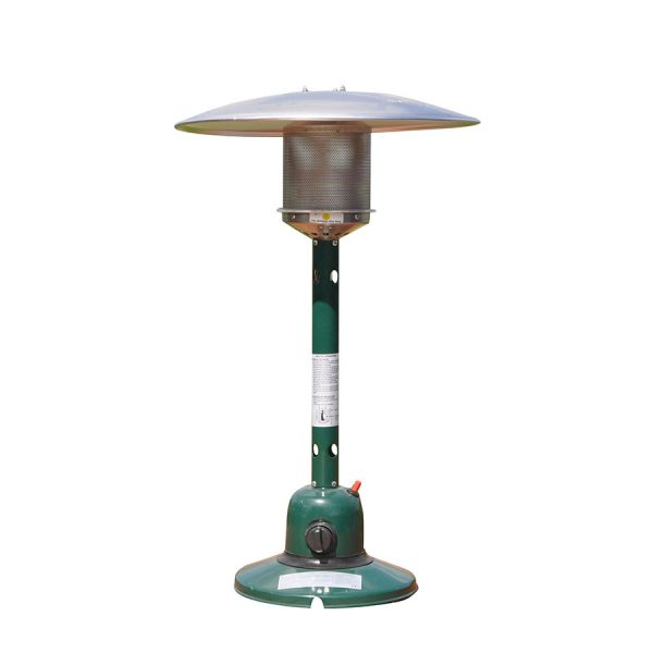 Kingfisher Bonnington Gas Tabletop Patio Heater - Green