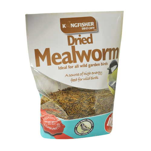 Kingfisher Dried Mealworm Wild Bird Food - 1kg