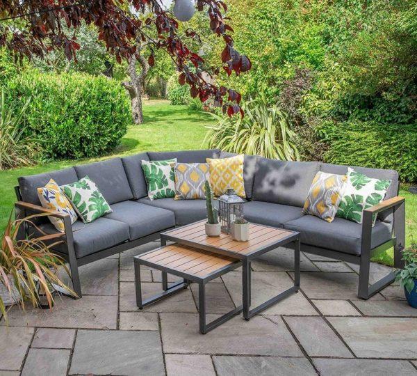 LG Outdoor Roma Aluminium Collection Modular Lounge Set