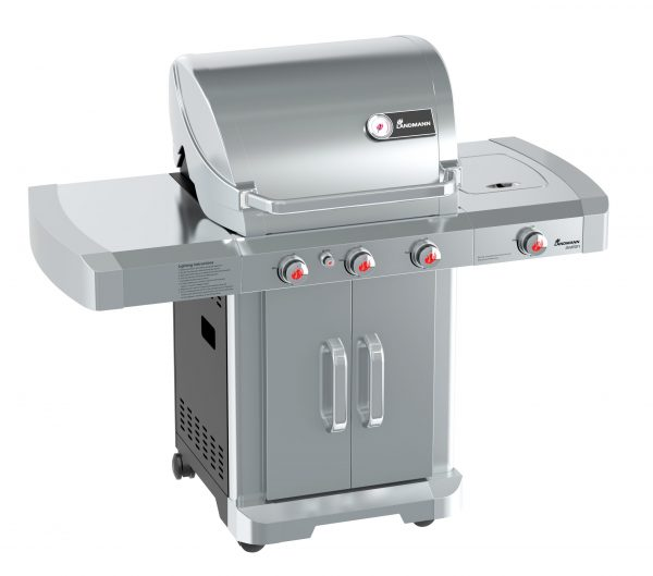 Landmann Avalon 3.1 Stainless Steel Gas Barbecue