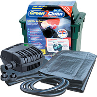 Lotus Green2Clean 3000 & PondXpert MightyMite 2000 Small Pond Kit