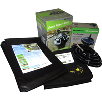 PondXpert EasyPond 4500 Pond Kit with Liner & Underlay