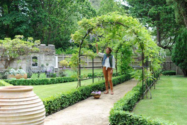 Roman Garden Pergolas