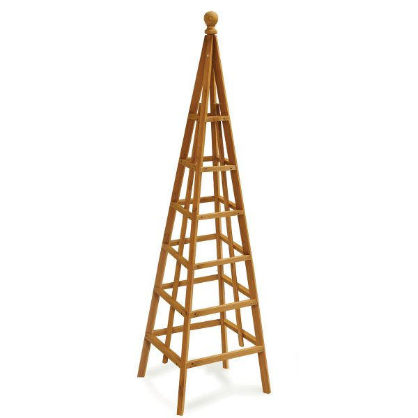 Smart Garden Woodland Obelisk Tan - 1.9m