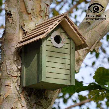 Wildlife World New England Nest Box-Green